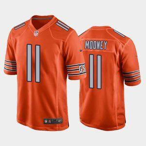 Chicago Bears Darnell Mooney Orange Jersey